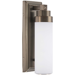 5500-281-L Harvard Court Bronze LED Wall Sconce