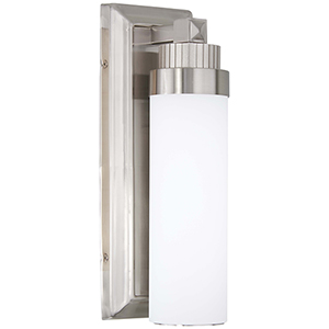 5500-84-L Brushed Nickel LED Wall Sconce