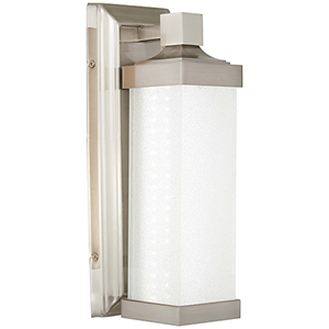 5501-84-L Brushed Nickel LED Wall Sconce