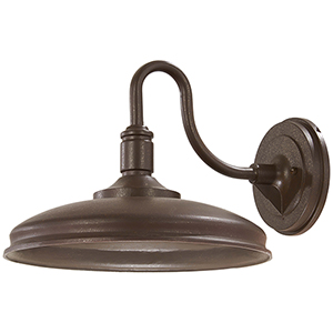 Harbison LED Bronze with Copper Flecks 13-Inch LED Outdoor Wall Sconce