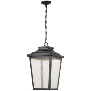 Irvington Manor Chelesa Bronze 12-Inch LED Outdoor Pendant