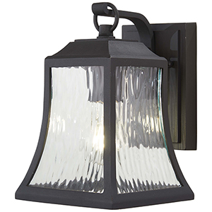 Cassidy Park Black One-Light Outdoor Wall Sconce