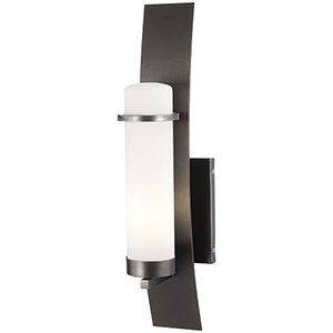 Arcus Truth Smoked Iron 22-Inch One-Light Outdoor Wall Sconce