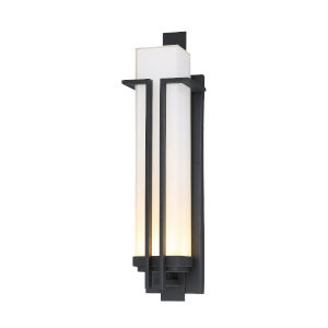 Tish Mills Black 22-Inch One-Light Outdoor Wall Sconce