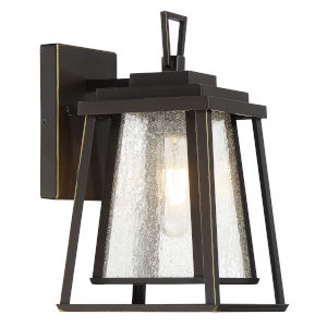 Dakota Bronze One-Light 7-Inch Outdoor Wall Mount