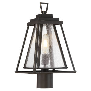Dakota Bronze One-Light Outdoor Post Mount