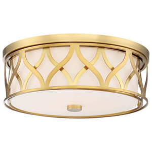 Liberty Gold 16-Inch LED Flush Mount