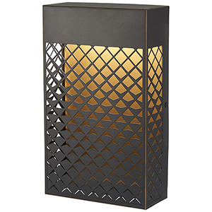Guild Matte Gold 11-Inch LED Outdoor Wall Sconce