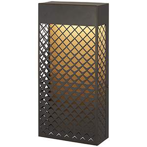 Guild Matte Gold 14-Inch LED Outdoor Wall Sconce