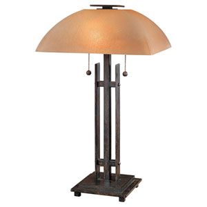 Lineage Iron Oxide Table Lamp