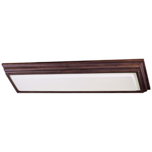 Energy Efficient Belcaro Walnut Two-Light Fluorescent Kitchen Light