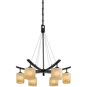 Raiden Six-Light Chandelier