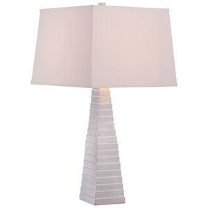 Silver Leaf 16-Inch One-Light Table Lamp