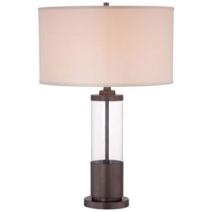 Copper Bronze Patina 18-Inch One-Light Table Lamp