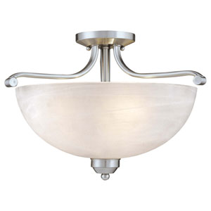 Paradox Semi-Flush Ceiling Light