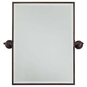 Dark Brushed Bronze Mirror