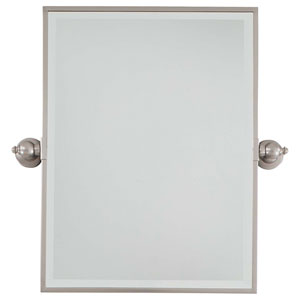 Brushed Nickel Mirror
