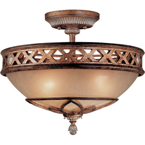 Aston Court Semi-Flush Ceiling Light