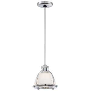 One-Light Chrome Mini Pendant