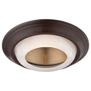 Dark Restoration Bronze 6-Inch Recessed Trim