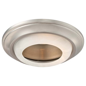 Paradox Brushed Nickel 6-Inch Recessed Trim