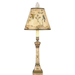 Belle Song Beige One-Light Candlestick Lamp