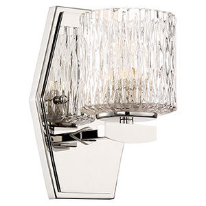 Maginot LED Bath Polished Nickel 5-Inch LED Bath Light