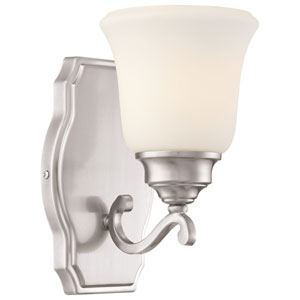 Savannah Row Brushed Nickel One-Light Vanity
