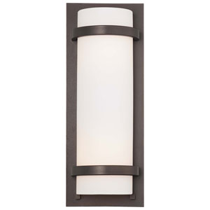 Fieldale Lodge Smoked Iron Two-Light Wall Sconce
