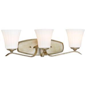 Laurel Estate Brio Gold Three-Light Vanity