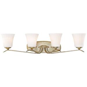Laurel Estate Brio Gold Four-Light Vanity