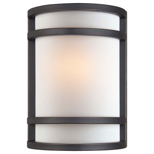 Modern Bronze Flush Sconce
