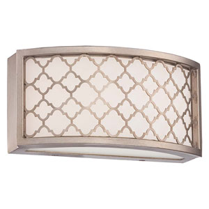Westwood Court Champagne Gold 10-Inch One-Light LED Bath Sconce