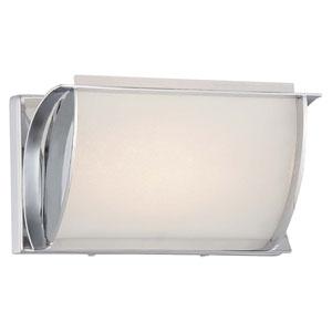Arlington Brooke Chrome 9-Inch One-Light LED Bath Sconce