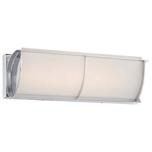 Arlington Brooke Chrome 17-Inch One-Light LED Bath Fixture