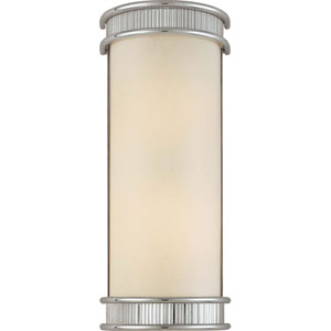 Federal Restoration Chrome Two-Light Wall Sconce