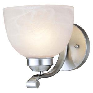 Paradox One-Light Brushed Nickel Bath Bar Light