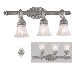 Europa Three-Light Bath Fixture