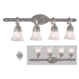 Europa Four-Light Bath Fixture