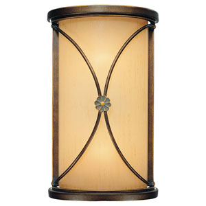 Atterbury Deep Flax Bronze Two-Light Wall Sconce