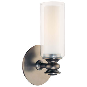Harvard Court Bronze One-Light Wall Sconce