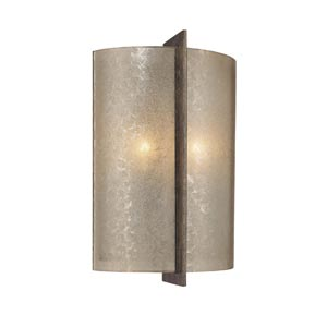 Clarte Patina Iron Two-Light Wall Sconce