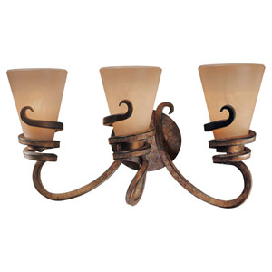Tofino Three-Light Bath Fixture