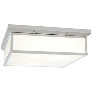 Chrome 20-Inch LED Flush Mount