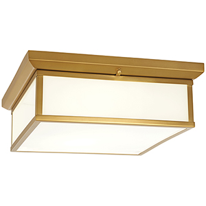 Liberty Gold 16-Inch LED Flush Mount