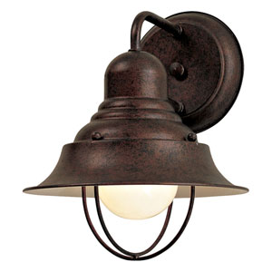Wyndmere Antique Bronze 8-Inch Outdoor Wall Mount