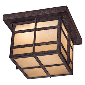 Delancy Fluorescent Outdoor Flush Mount