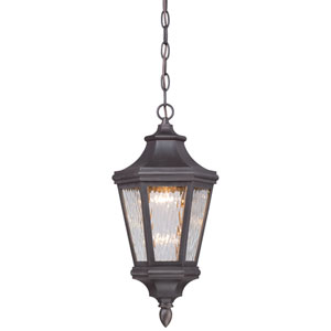Hanford Pointe Oil Rubbed Bronze 9-Inch One-Light Outdoor LED Pendant