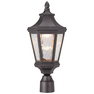 Hanford Pointe Oil Rubbed Bronze 9-Inch One-Light Outdoor LED Post Mount