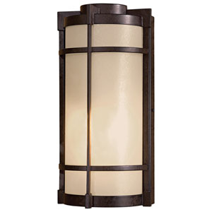 Mirador Exterior Small Pocket Fluorescent Outdoor Wall Light